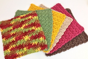 Free pattern crochet dishcloth