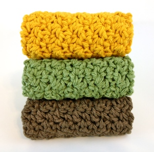 cotton washcloth free pattern crochet